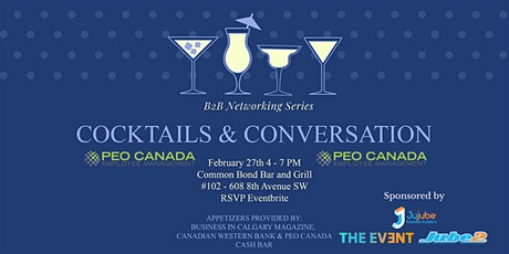 Cocktails & Conversation Sponsored by Jujube Business Builders / THE EVENT  tickets