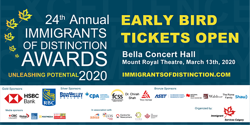 2020 Immigrants of Distinction Awards
