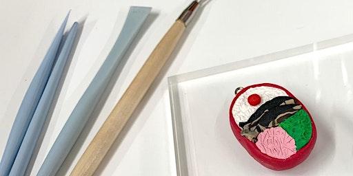 Mini Clay Japanese Bento Box