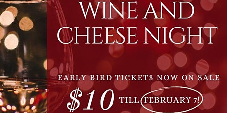 Wine and Cheese Night tickets