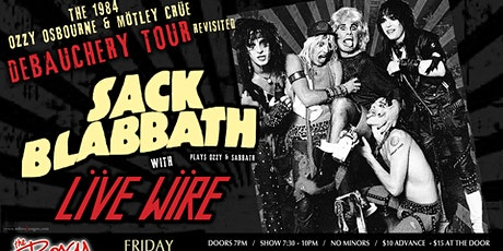 The 1984 Ozzy Osbourne & Mötley Crüe Debauchery Tour Revisited tickets