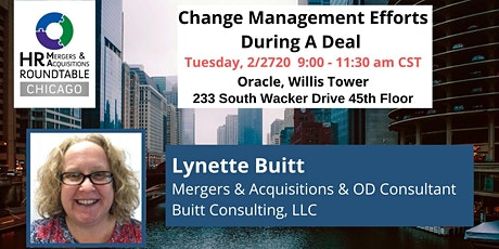 Change Management Efforts During A Deal tickets