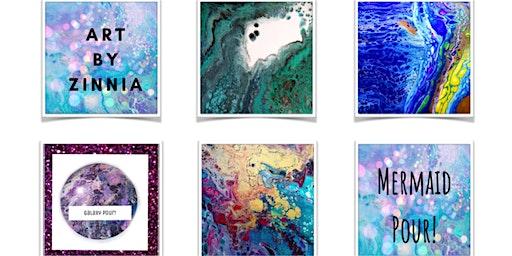 Fluid Art Paint Pouring Class: Dirty Pour