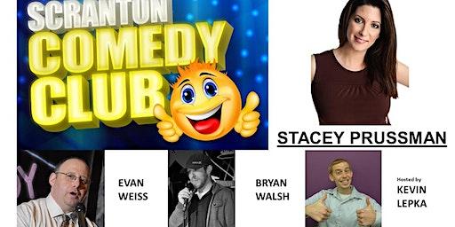 Scranton Comedy Club February Show - w/ Stacey Prussman