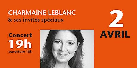 Concert bénéfice Charmaine LeBlanc Overcome SynGAP1 tickets