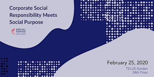 Corporate Social Responsibility Meets Social Purpose