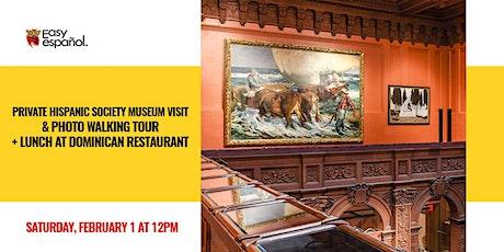 Private Hispanic Society Museum Visit & Photo Walking Tour tickets