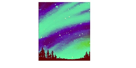 Paint & Sip Party Painting: Fun, Painting  your own Beautiful Starry sky's tickets