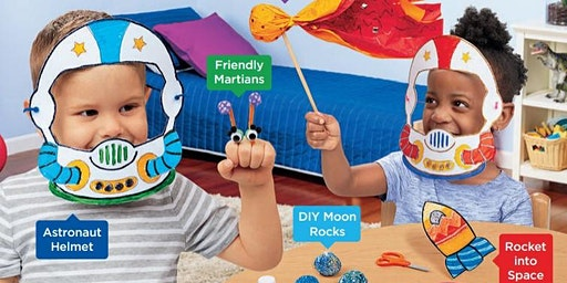 Lakeshore's Free Crafts for Kids - Out of this World Saturdays in February (McAllen)