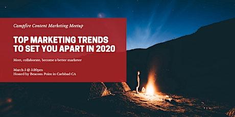 Campfire Content Marketing Meetup tickets