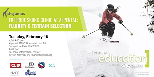 Girls with Grit & SheJumps Freeride Clinic at Alpental: Fluidity & Terrain