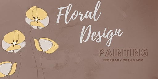 Floral Design - Pottery Painting