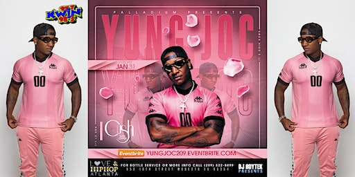 YUNG JOC performing live at the Palladium Nightclub in Modesto