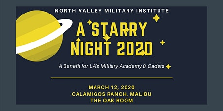 NVMI GALA 2020: A Starry Night tickets
