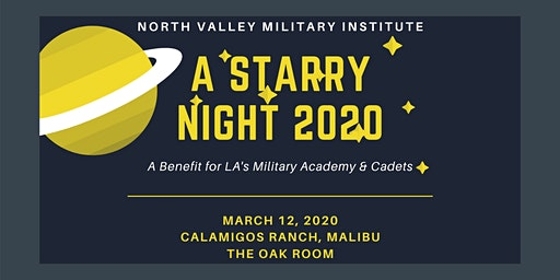 NVMI GALA 2020: A Starry Night
