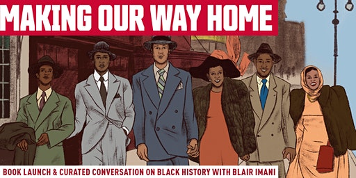 Making Our Way Home: Book Launch with Blair Imani