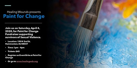Paint For Change tickets