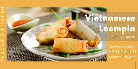 Vietnamese Cooking Workshop | Loempia | Pork & Shrimp tickets