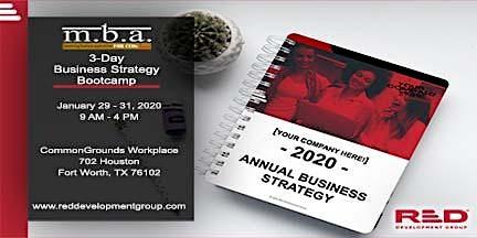M.B.A. for CEOs 3-Day Business Strategies Bootcamp - SAN ANTONIO, TX