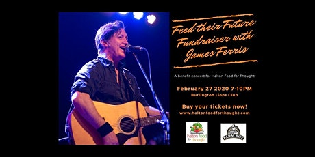 Feed their future FUNdraiser with James Ferris tickets
