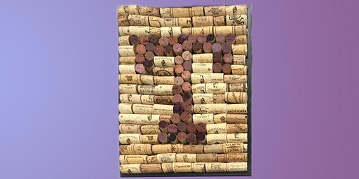 Monogrammed Wine Cork Board: Sip and Craft at Watergrasshill B&B!!!!