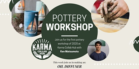 HANDBUILDING POTTERY - MAKE AN OIL DIFFUSER tickets