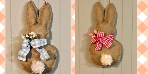 Funny Bunny Door Hanger Workshop