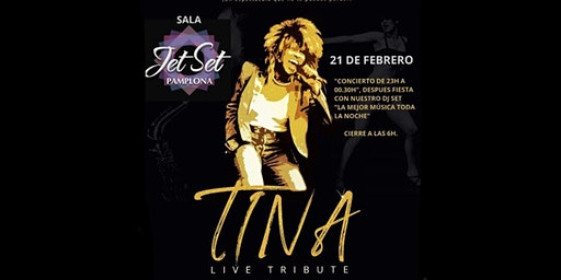 TINA LIVE TRIBUTE Y DJ SET