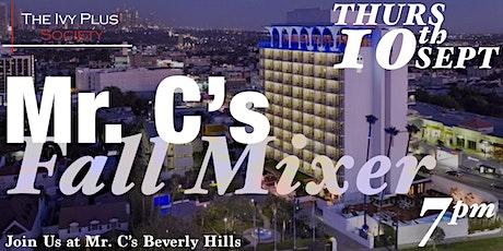 LA: Mr. C's Fall Mixer tickets