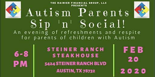 Autism Parents Sip 'n' Social