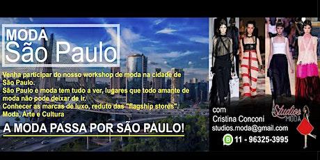 MODA SÃO PAULO   1 DIA INTEIRO DE MODA  COM A PARTICIPAÇÃO DE DANY FELIX ingressos
