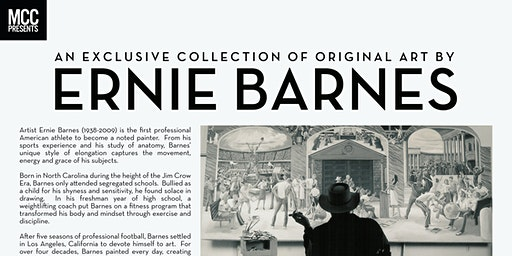 SAVE THE DATE: EXCLUSIVE SELECTION OF ERNIE BARNES ORIGINAL ART