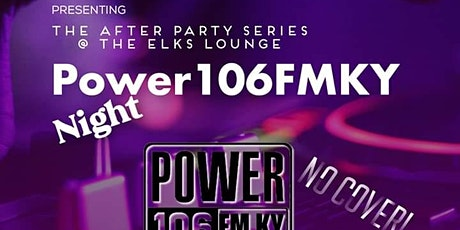 The After Party Series Power106FM night tickets