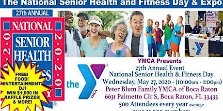 "YMCA Boca Raton ""National Senior Health and Wellness Expo tickets"
