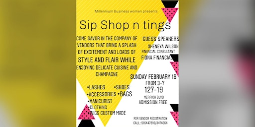 Sip Shop and Tings