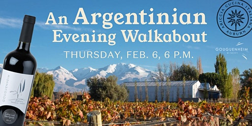 An Argentinian Evening Walkabout with the Guggenheim Winery