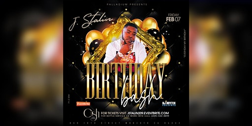J. Stalin's official Birthday Bash live at the Palladium Nightclub