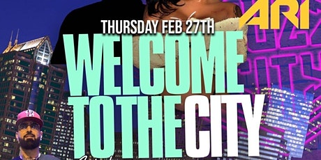 WELCOME TO THE CITY CELEBRITY TOURNAMENT PARTY w/ ARI FLETCHER & FRIENDS tickets