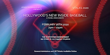 Hollywood's New Inside Baseball tickets