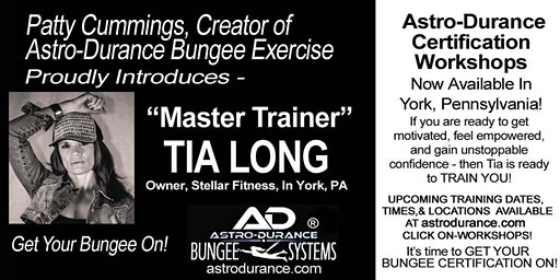 ASTRO-DURANCE 1-Day Master Trainer Bungee Workshop, Pennsylvania, March 17