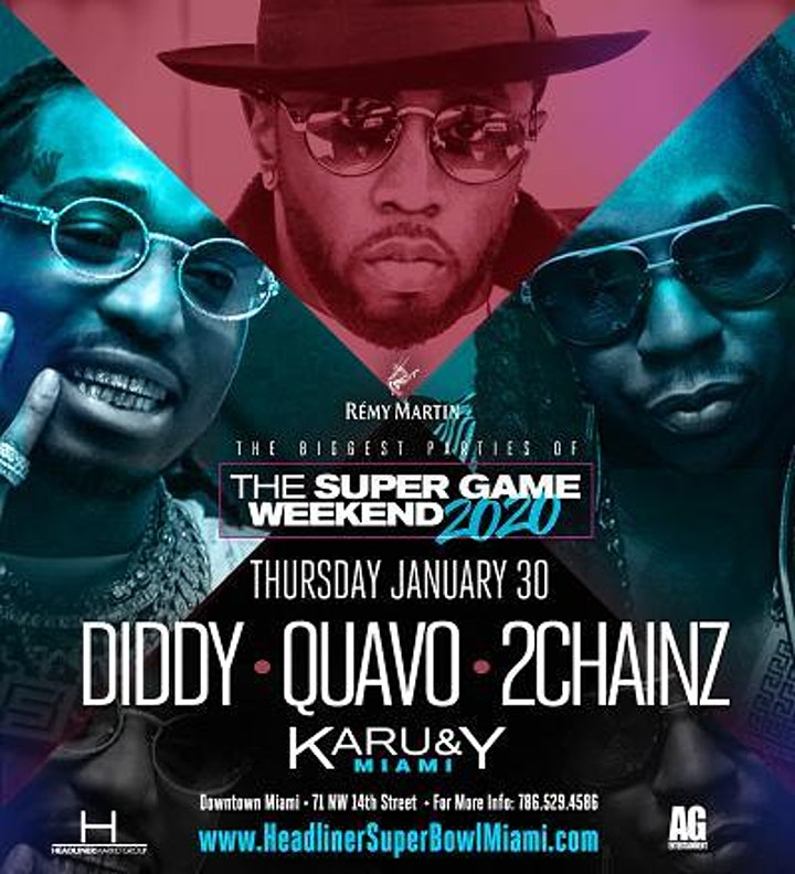 "The ""RETURN"" w/Diddy, 2Chainz, Quavo, Richie D, Dutty Dex, and more image"