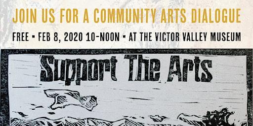 Community Arts Dialogue, Demos and More!