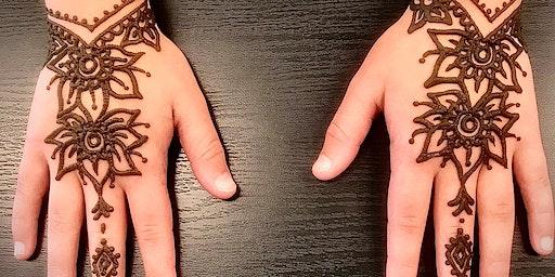 Learn how to draw Henna Tattoo Class