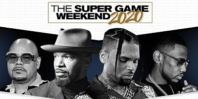 The SUPER Game Kickoff w/Chris Brown, Jamie Foxx, Fabolous, Fat Joe & more