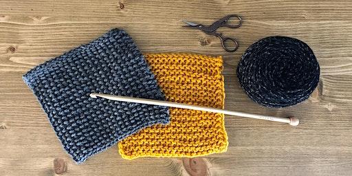 Tunisian Crochet Technique Workshop - Tunisian Simple Stitch