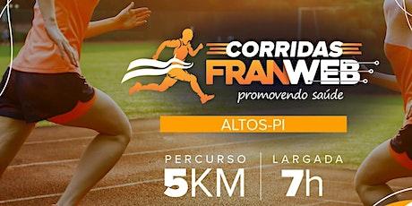 1ª CORRIDA FRANWEB ingressos