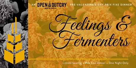 Feelings & Fermenters, a Prix Fixe Valentine's Day Dinner at the Brewery tickets