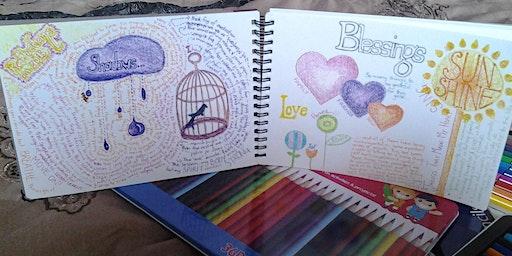 Therapeutic Art Journaling