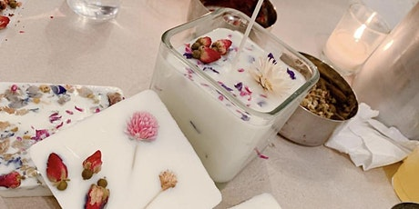 Valentines Day Candle Making Workshop + Wine Tasting tickets