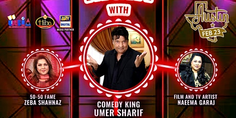 Laughter Night With Umer Sharif billets